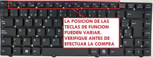 teclado positivo bgh c510 c520 c525 c530 c550 c560 c570
