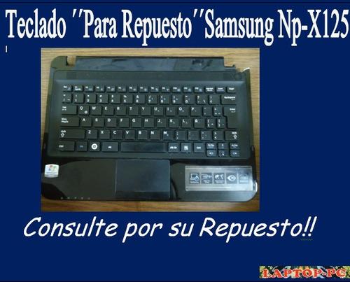 teclado ´´pra repuesto´´ samsung np-x125