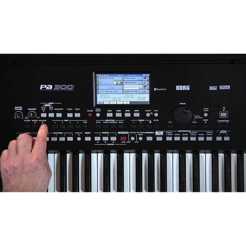 teclado profissional korg pa600 61 teclas midi usb promoção