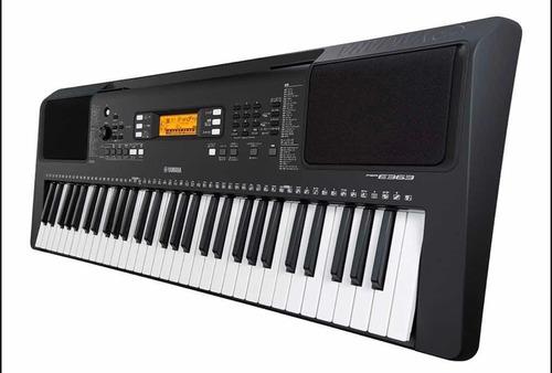 teclado psr-e363 con adaptador