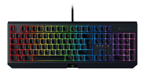 teclado razer blackwidow 2019 mechanical green switch esp