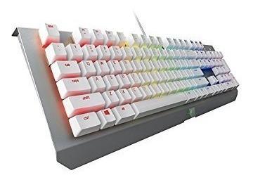 teclado razer blackwidow x chroma mercury edition silver htg