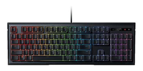 teclado razer ornata chroma mecha-membrane - spanish layout