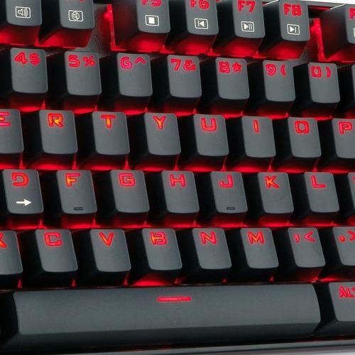 teclado redragon k552 kumara tenkeyless mecanico outemu blue