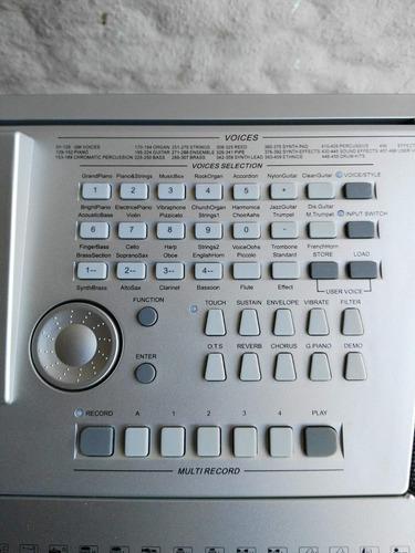 teclado ringway tb 6000, 5 octavas con sensibilidad