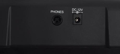 teclado ringway tb100 5 octavas sensitivo + fuente + envio