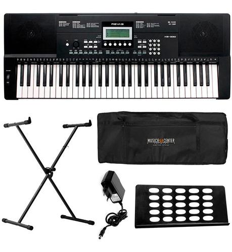 teclado roland revas kb330 kb-330 61 teclas sensitivas + kit