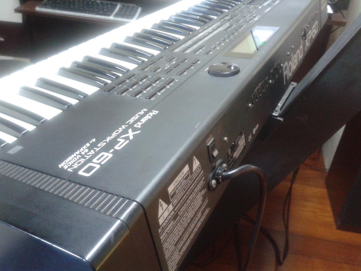 Teclado Roland Workstation Xp-60 Baixou + Case