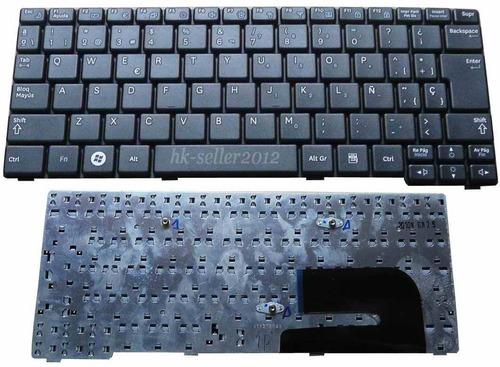 teclado samsung n102  n148 n150 n158 nb30 negro ingles