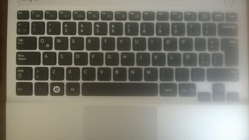 teclado samsung np305 con touchpad top cover 100% original