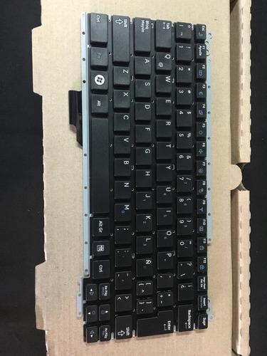 teclado samsung original np-nc110 español negro con letra ñ