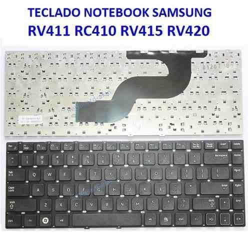 teclado samsung rc410 - repuestos - teclas