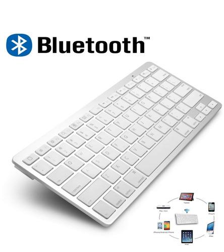 teclado sem fio bluetooth wireless slim padrão win  a35