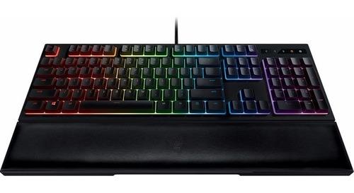 teclado semi mecánico gamer razer ornata chroma español htg