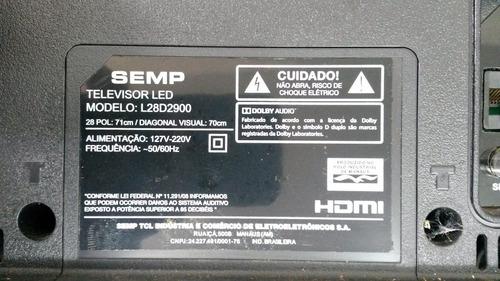 teclado semp modelo l28d2900