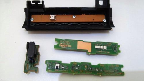 teclado + sensor tv sony 46  modelo kdl-46ex725