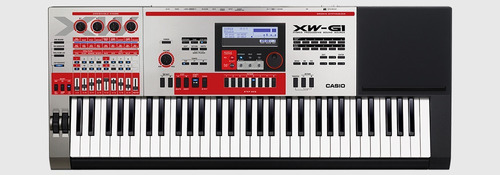 teclado sintetizador casio xw-g1