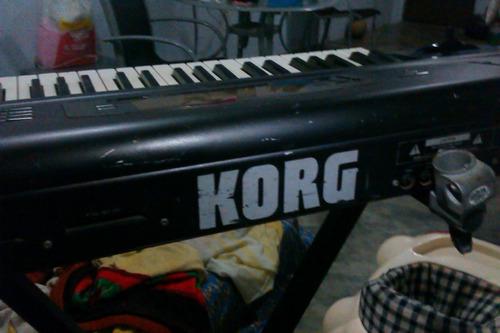 teclado sintetizador korg 01wfd ( negociable )