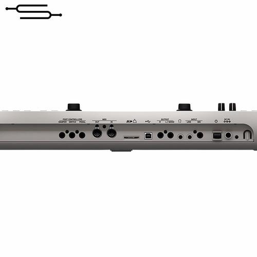 teclado sintetizador korg kross 2 61 teclas + fuente - envio