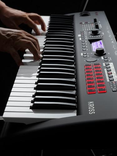 teclado sintetizador korg kross 2 61 teclas + pedal original