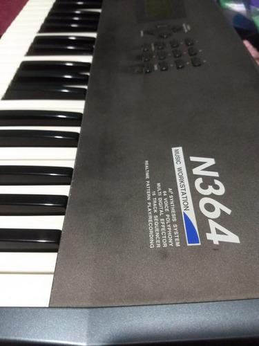 teclado sintetizador korg n364 troca não roland yamaha casio