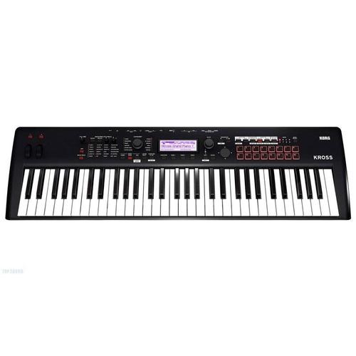 teclado sintetizador workstation 61 teclas korg kross 2
