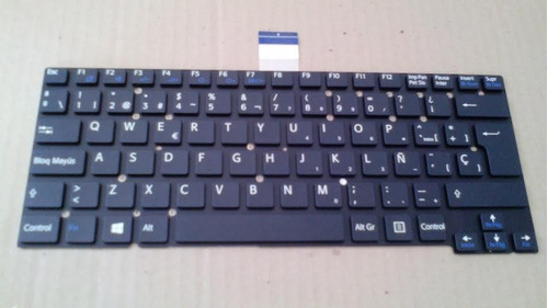 teclado sony vaio