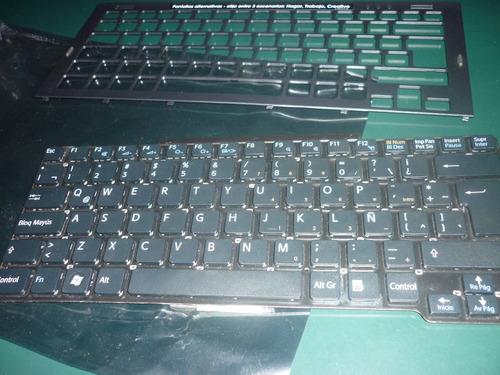 teclado sony vaio mod vgn sr serieres negro en español