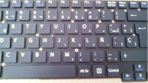 teclado sony vaio svt13 svt13117 svt13115 español negro