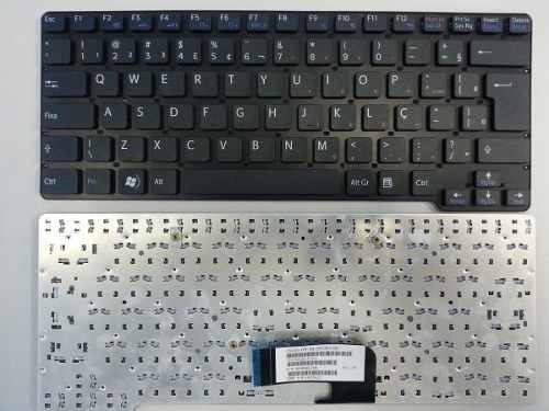 teclado sony vaio vgn-cw vpc-cw series preto padrao abnt2 ç