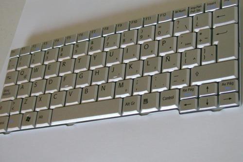 teclado sony vaio vpcm120al, nuevo, español, envios