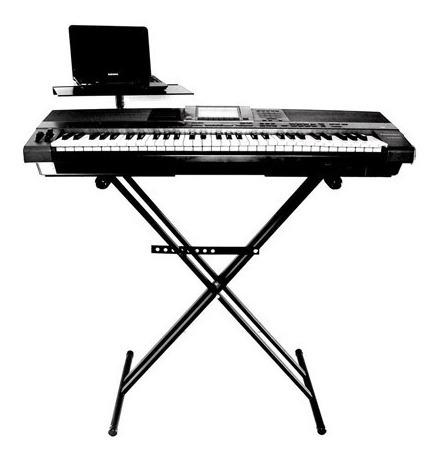 teclado soporte pie