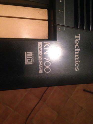 teclado technics kn 700 (raridade) 100%
