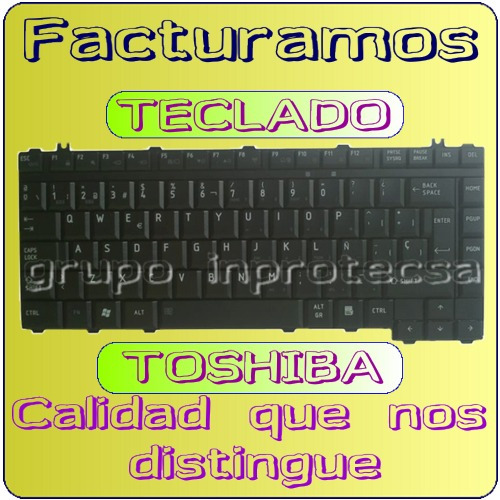 teclado toshiba c645d c645d sp4160m negro español mmu