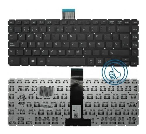 teclado toshiba l40-b l40d-b  mp-13r66e0-528