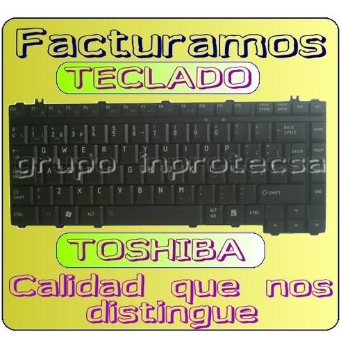 teclado toshiba l455, l450, l455d, l450d daa