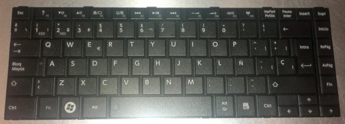 teclado toshiba l845-sp4163km español vbf