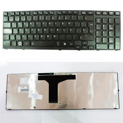 teclado toshiba  p750 p750-00y black