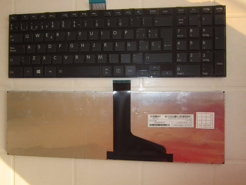 teclado toshiba p855 l850 l850d l855 l855d c855 esp. oferton