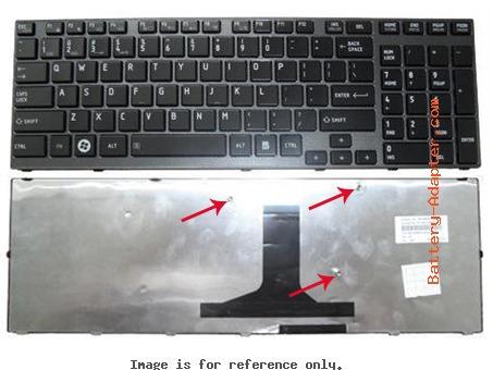 teclado toshiba   satellite a660-12t