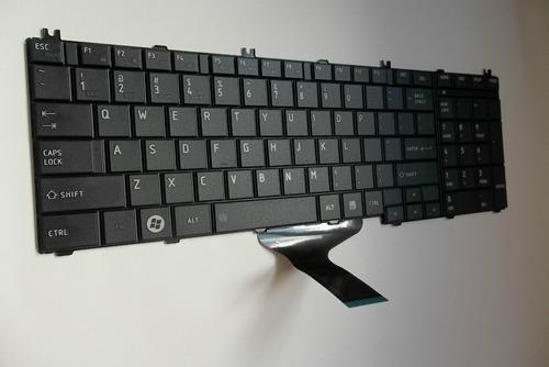 teclado toshiba  satellite l650 l650d l655 l655d  version us