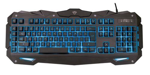 teclado trust gxt 840 myra gaming retroiluminado cuotas