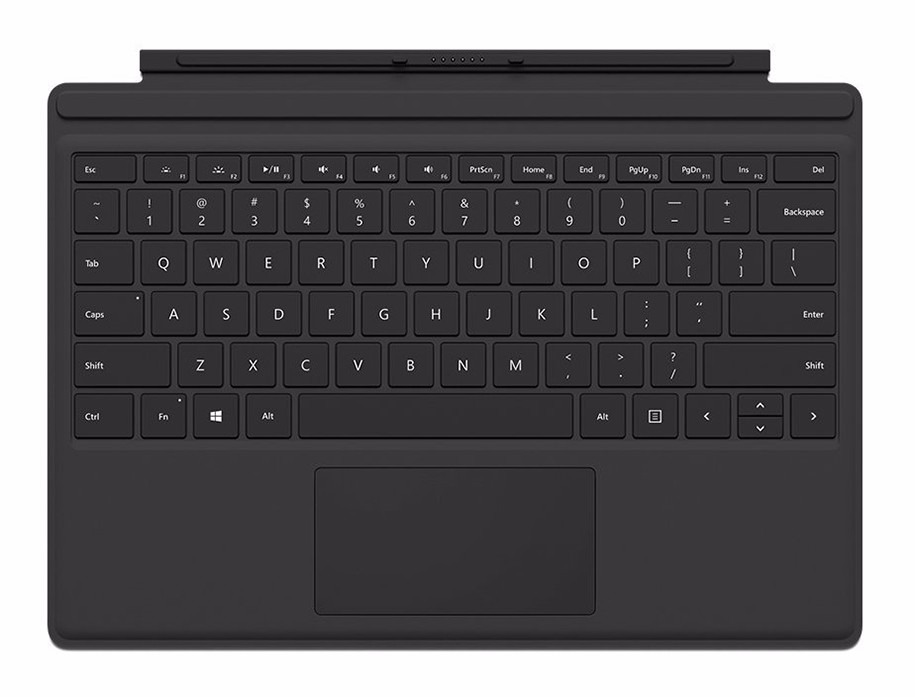 teclado type cover 4 para surface pro 4 y 3 retroiluminado