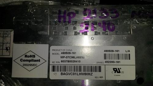 teclado usado para laptop mini  hp 2133, 2140