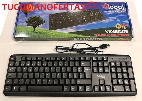 teclado usb global electronics de excelente calidad y precio