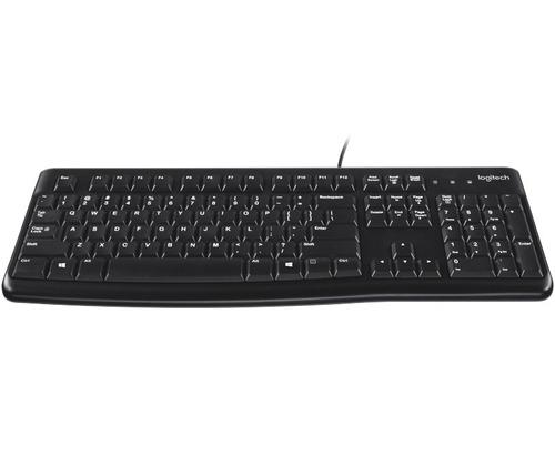 teclado usb logitech k120 ideal pc negro español ñ pc