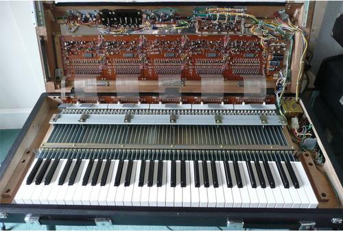 teclado vintage yamaha cp30