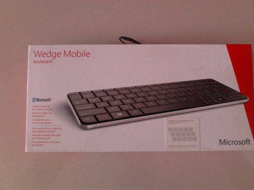 teclado wedge mobile keyboard microsoft