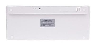 teclado wireles p/ ipad iphone imac macbook pc tablet wi-fi