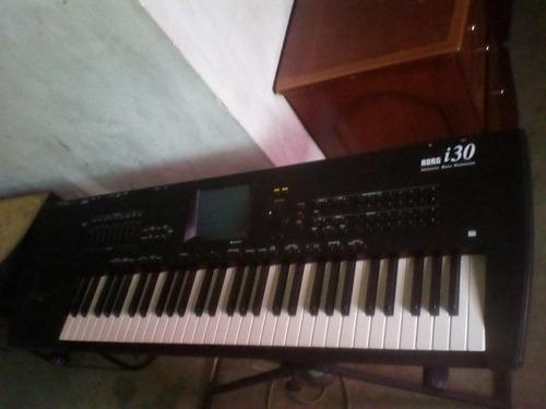 teclado workstation buena maquina de produccion korg i30